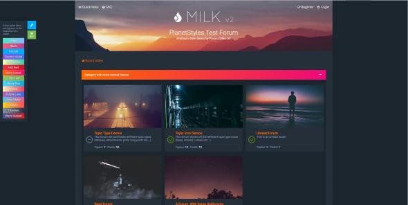 Milk v2.0.6 - чистый и современный отзывчивый стиль для phpBB 3.2. - 3.PNG