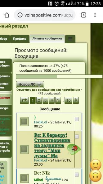 Индикатор прогресса заполнения папки ЛС - Screenshot_20190528-172306.png